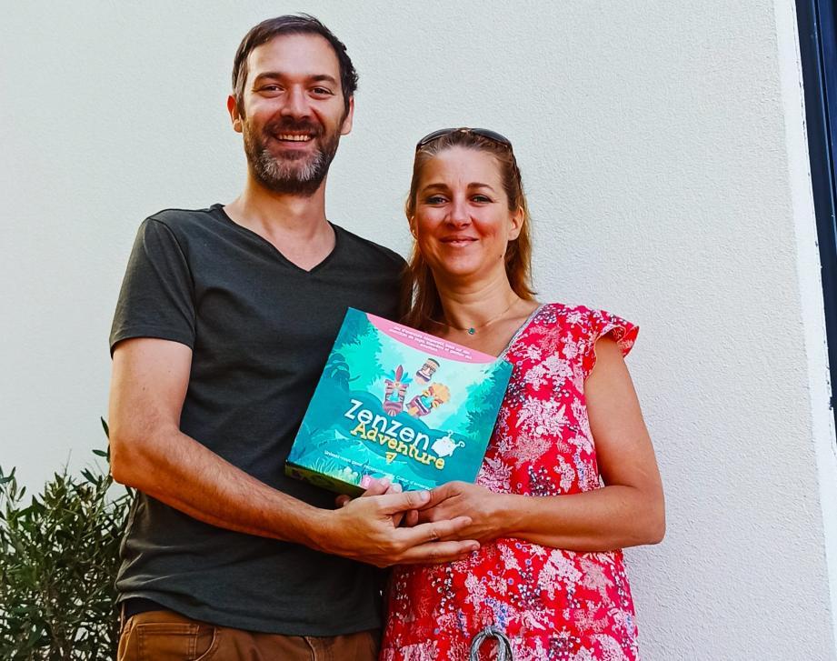 Sabrina Taillandier et Alric Farrugia vous présentent le jeu ZenZen Adventure, né dans leur salon.