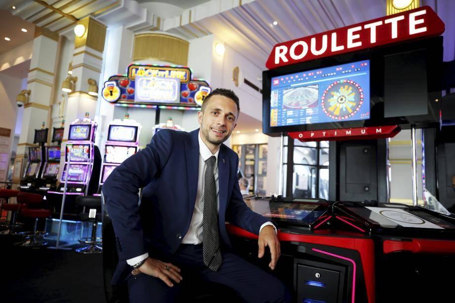 Geoffrey D'Hier a été nommé directeur général du casino Barrière de Menton le 16 mars dernier, à la veille du confinement.