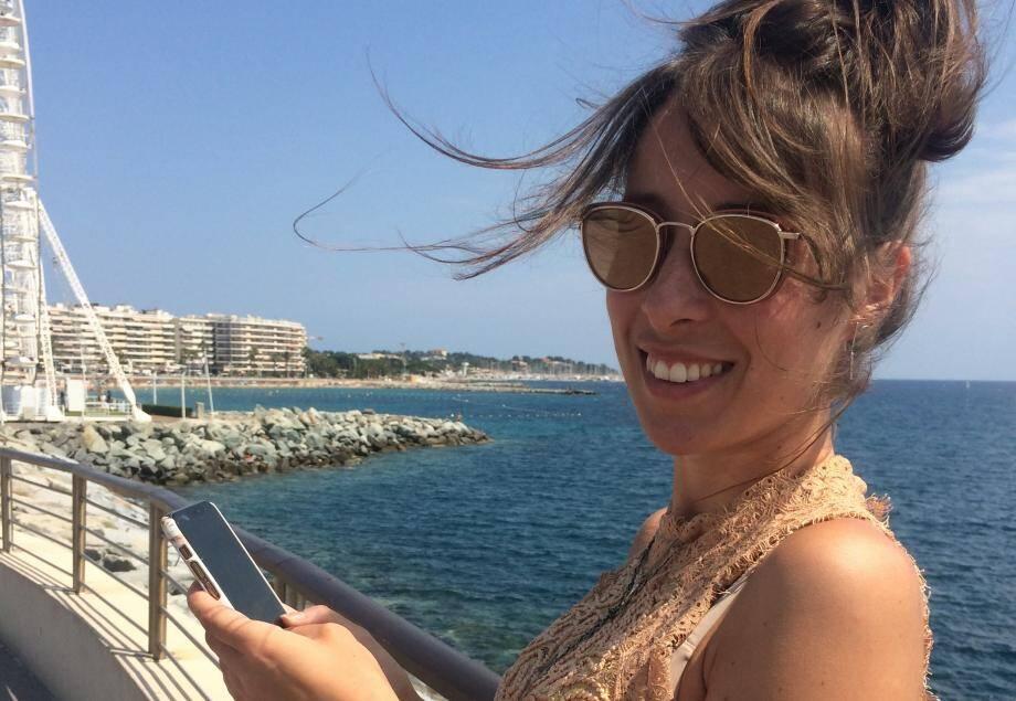Gina Ranalli, Raphaëloise de 31 ans, a conceptualisé l'application.