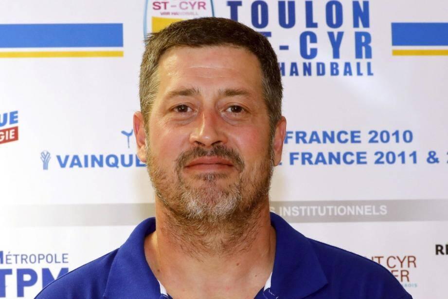 Laurent Puigségur, le nouvel entraîneur de Toulon/Saint-Cyr