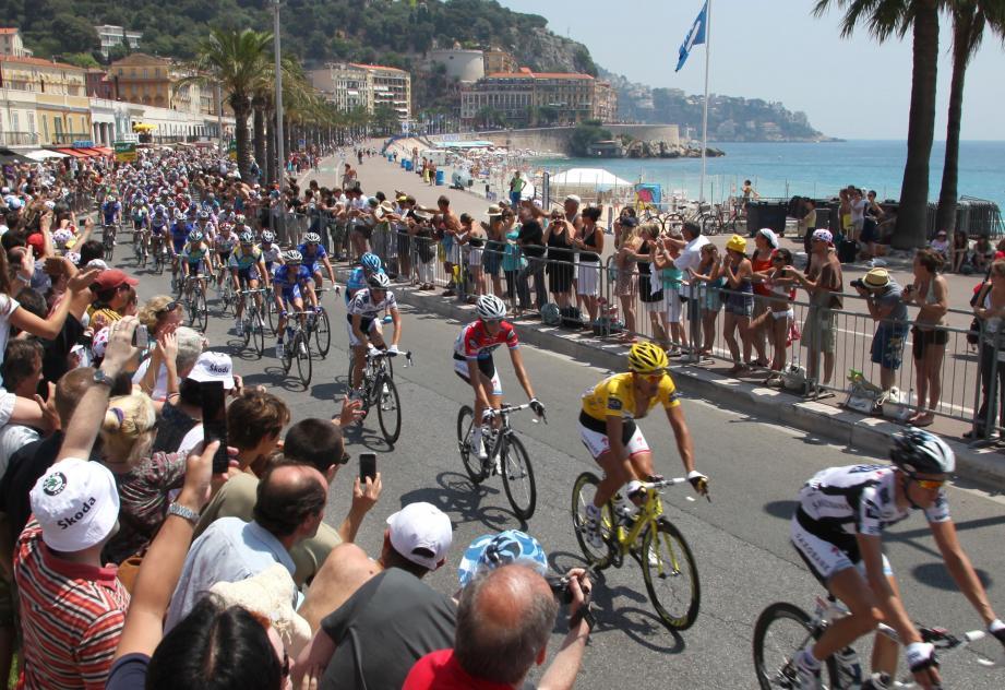 Le Tour de France à Nice en 2013