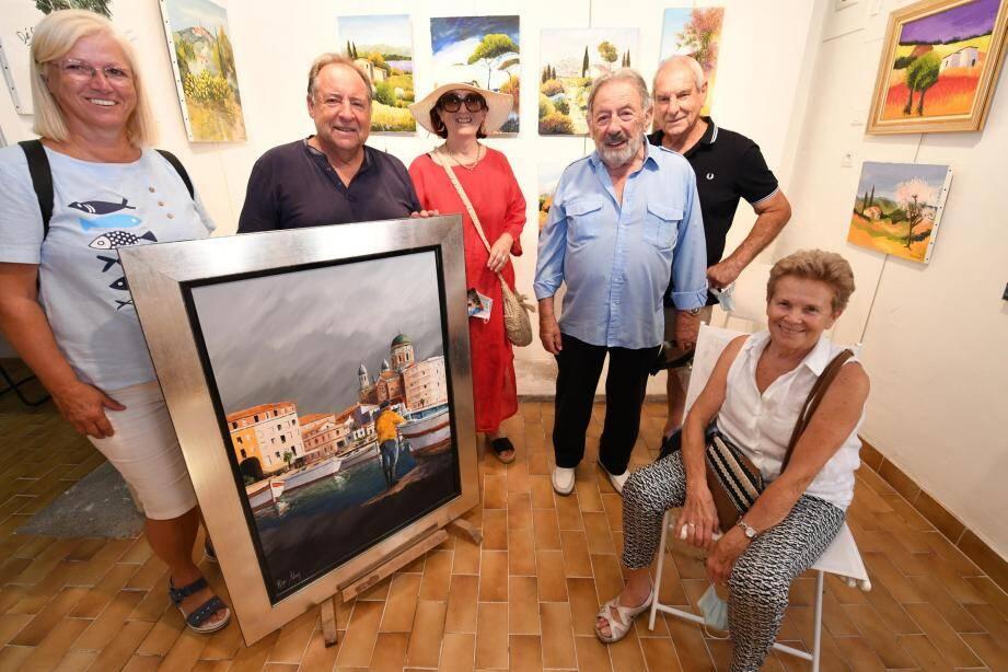 Les anciens disciples de l'artiste-peintre, disparu il y a plus d'un an, ont inauguré un atelier afin de poursuivre l'œuvre de celui qui était un fervent amoureux des paysages de Provence.