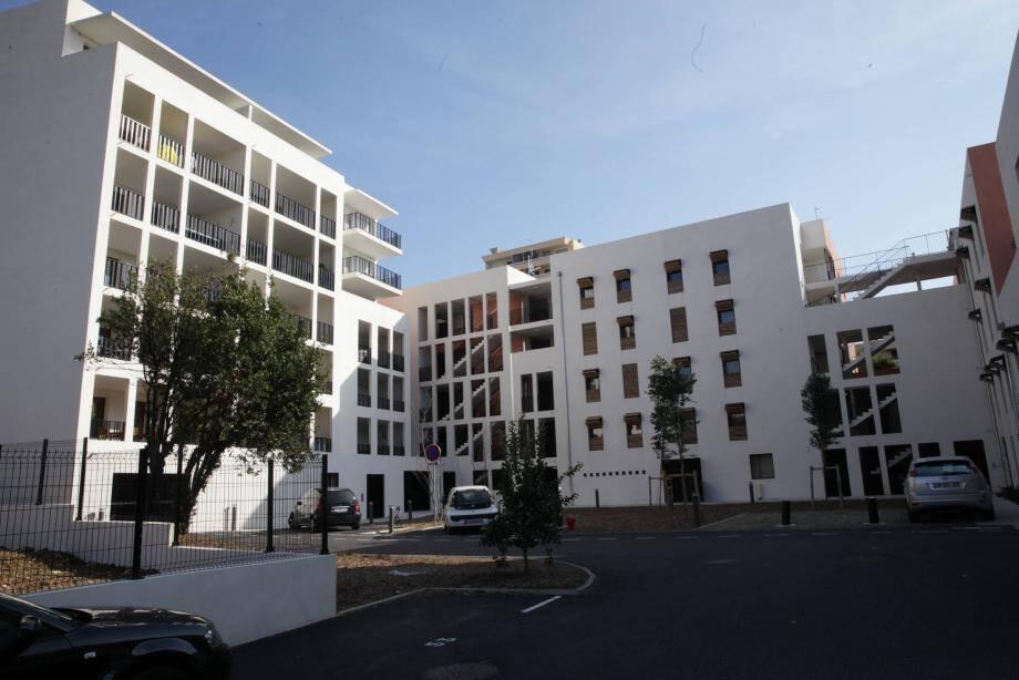 « Les jardins de Lully », à Antibes : l'une des résidences construites par la Communauté d'agglomération de Sophia Antipolis.