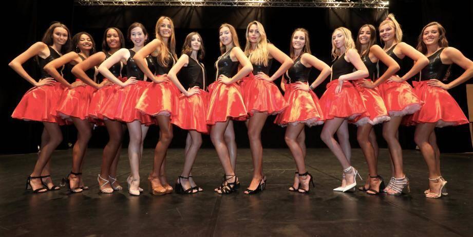 Laquelle des treize jeunes fille sera couronnée Miss Vallauris-Golfe-Juan ce vendredi soir au Minotaure?