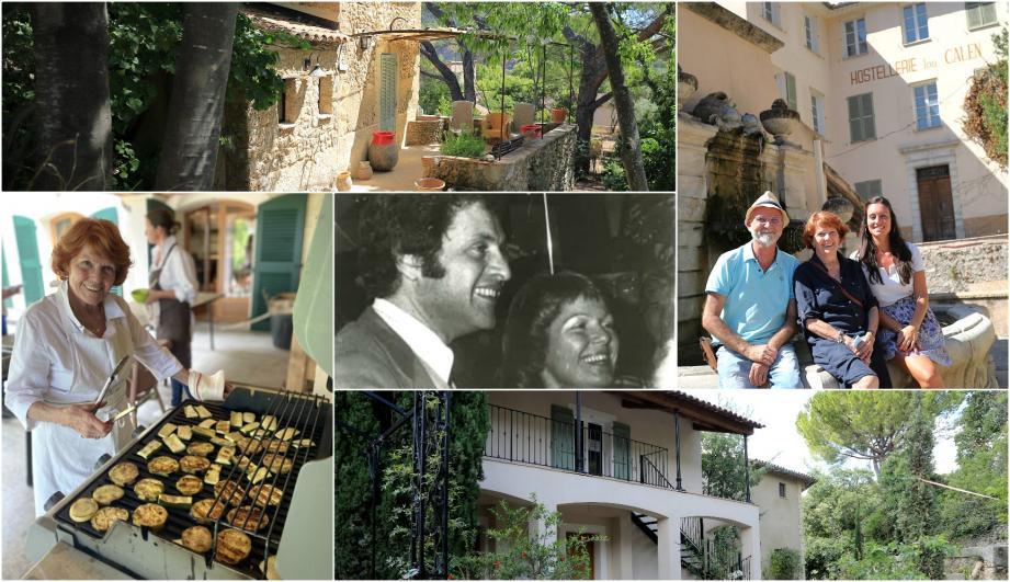 L'hostellerie Lou Calen a accueilli de nombreux artistes comme Joe Dassin durant plusieurs années.