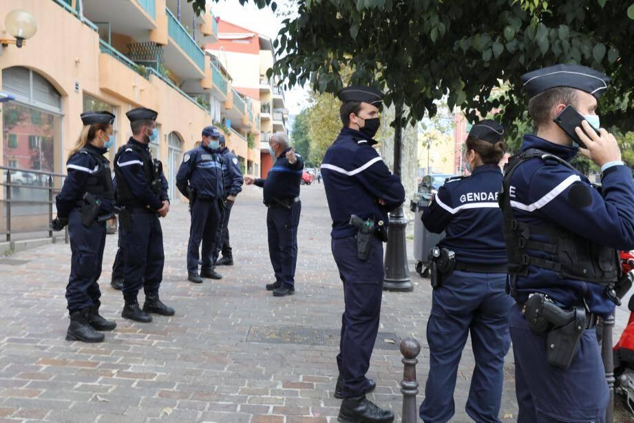 Depuis mardi soir, trente-trois gendarmes mobiles sont en renfort.