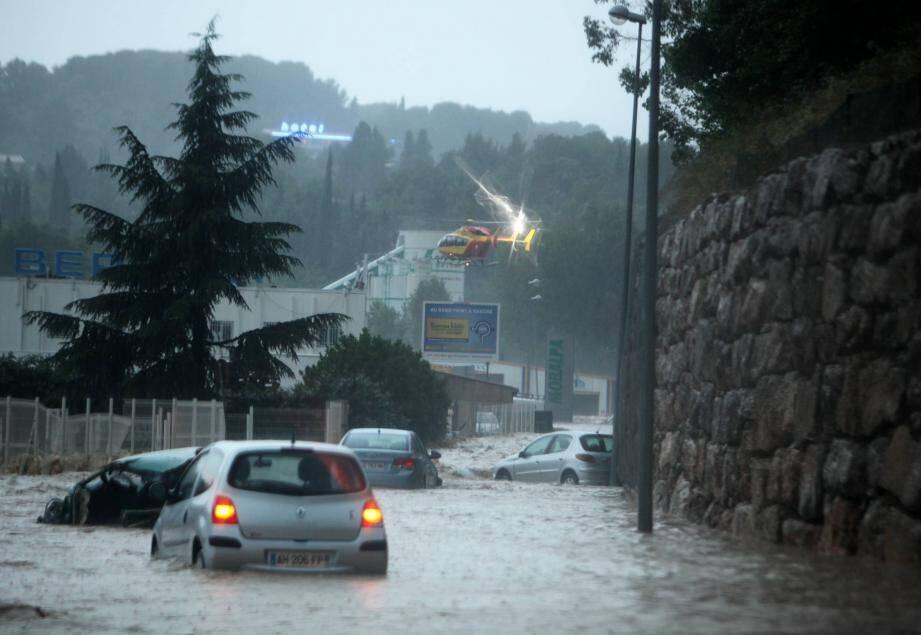 La tempête Alex a causé des dégâts similaires à ceux qu'a connu la Dracénie il y a dix ans.