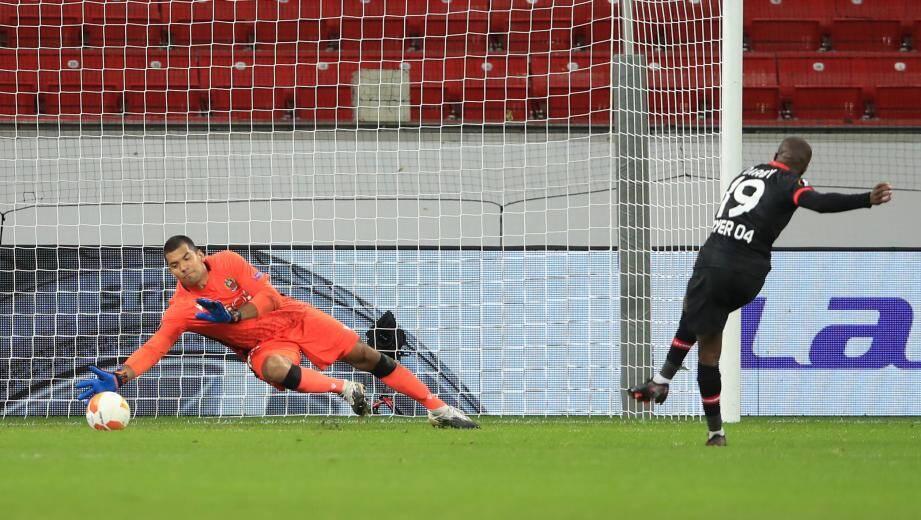 Le portier de l'OGC Nice Walter Benitez traverse une mauvaise passe.