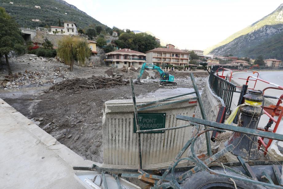 Dans la Roya, la reconstruction sera longue et coûteuse.