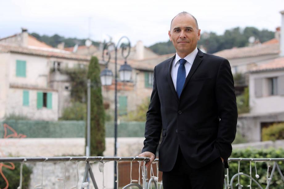 Jean-Bernard Mion, le maire de La Colle-sur-Loup