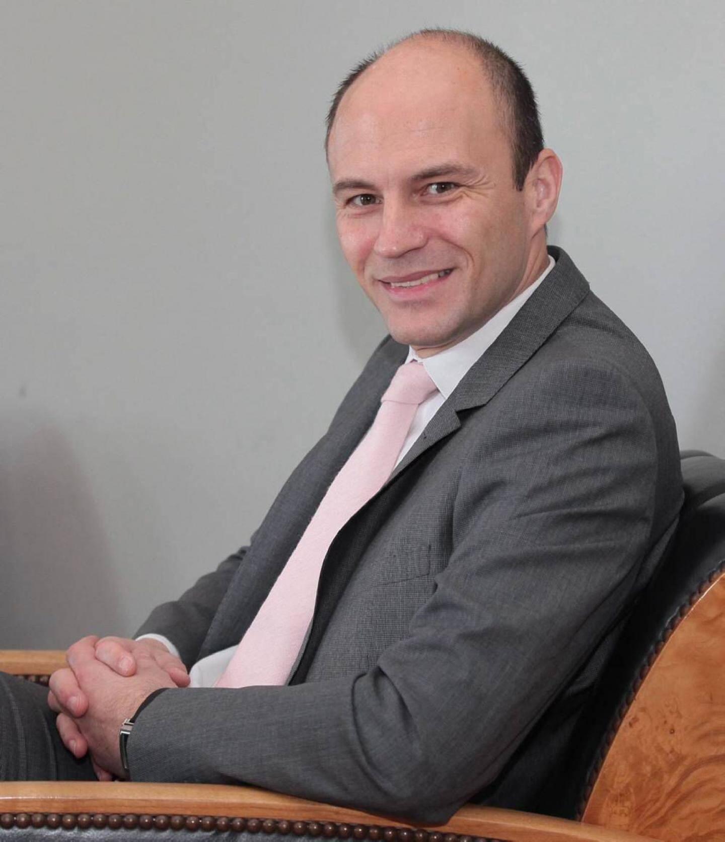 Stephane Vuillaume, directeur des hôtels Belles Rives Juana.