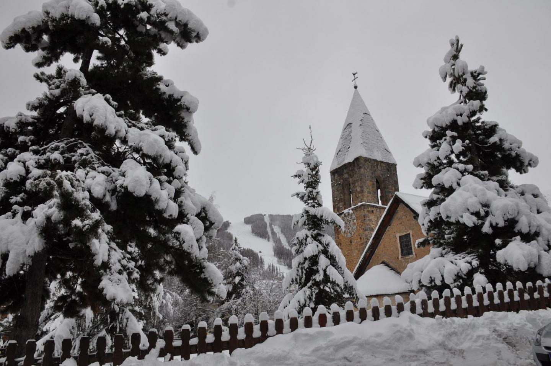 Deux jours de neige non-stop à Allos, et un résultat à la hauteur : plus d'un mètre !