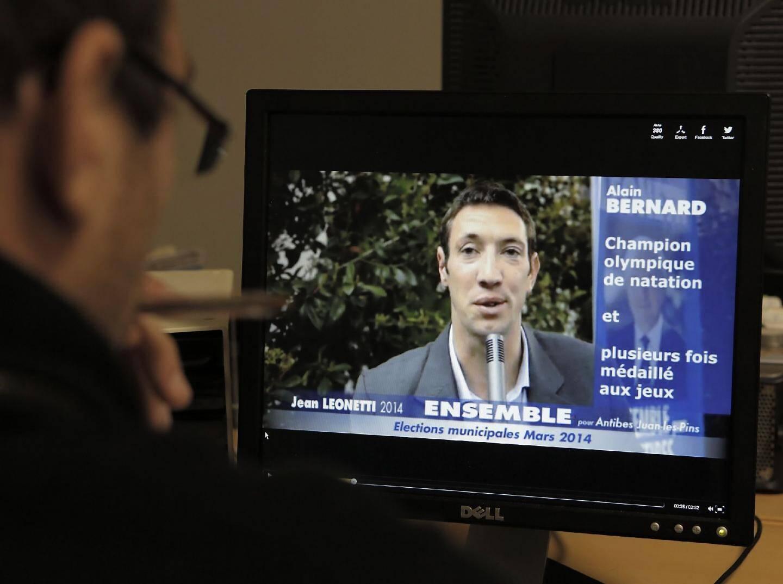 Alain Bernard, l'atout people de Jean Leonetti.