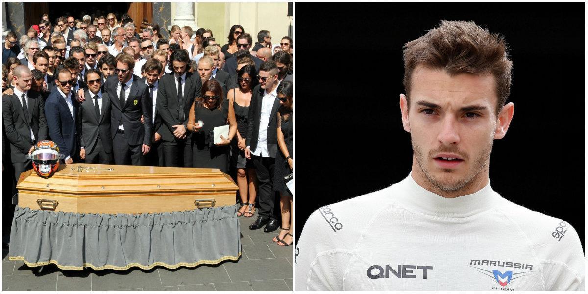 Les obsèques du jeune champion ont eu lieu le 21 juillet à la cathédrale Sainte-Réparate, dans le Vieux-Nice.