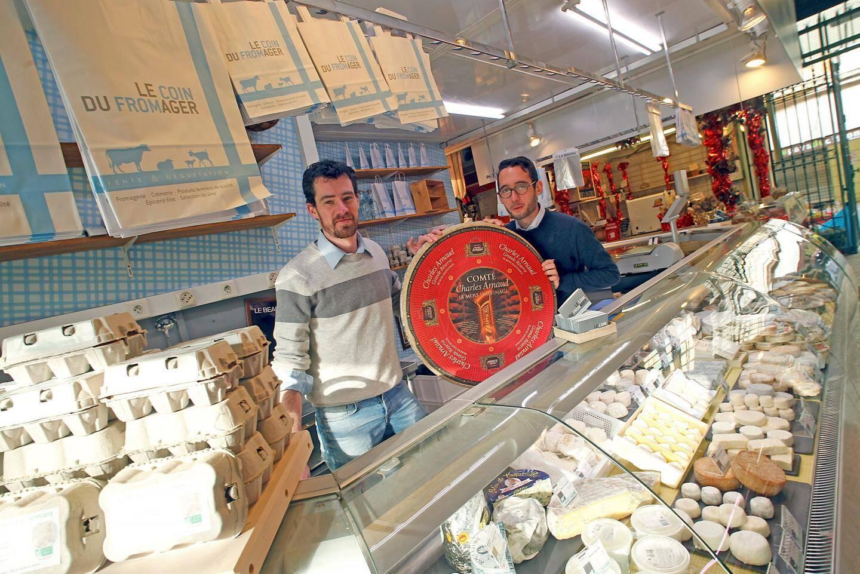 Après La Turbie, Michel Poma vient d'ouvrir son enseigne « Le coin du fromager » aux halles municipales.