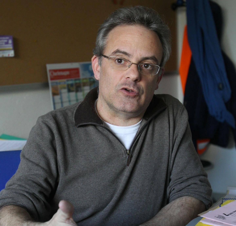 Stephane Sainsauliou, enseignant au lycéeJacques-Dolle(Antibes)