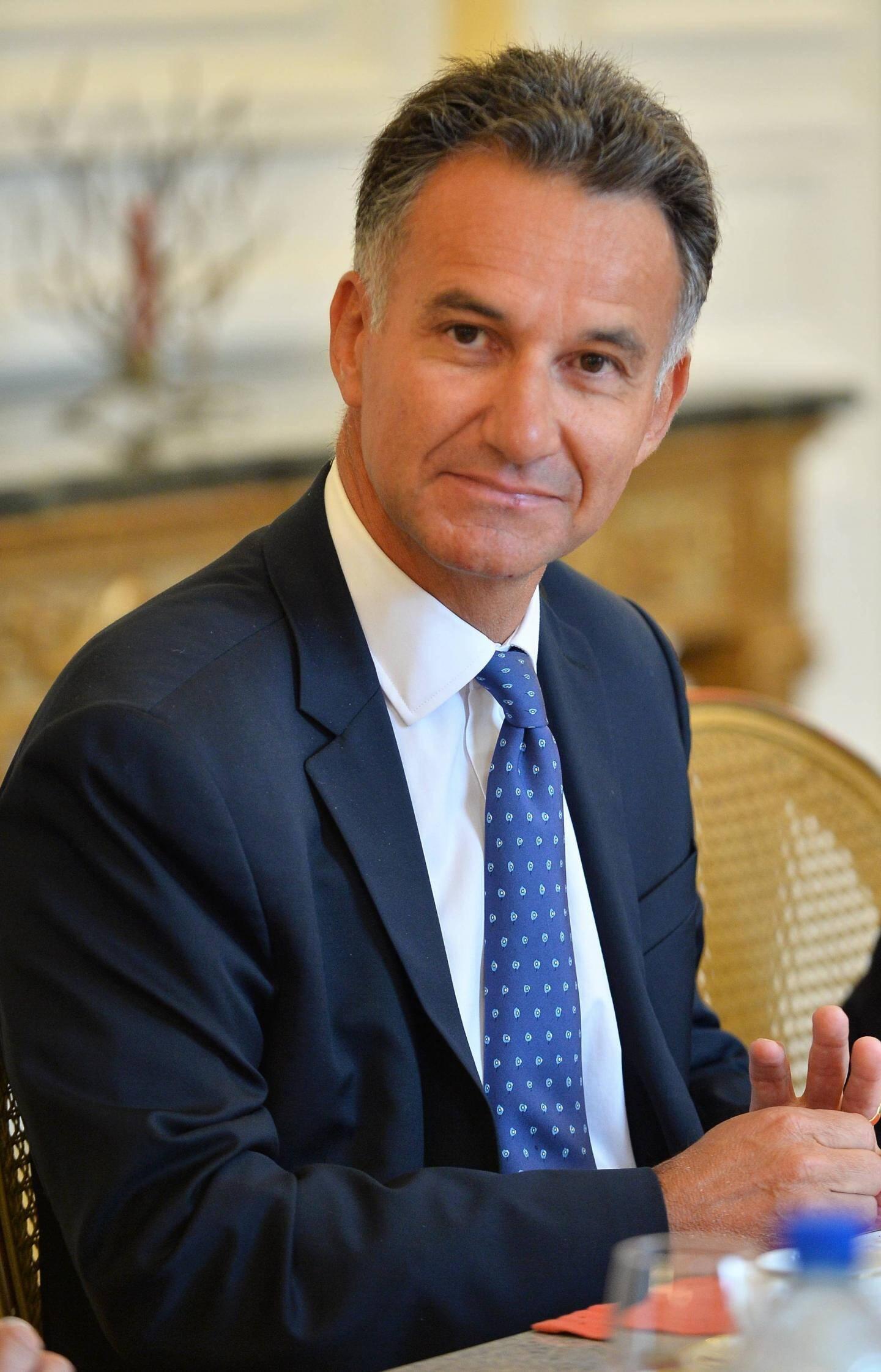 Thierry Garde, directeur général de la Société Générale Private Banking.