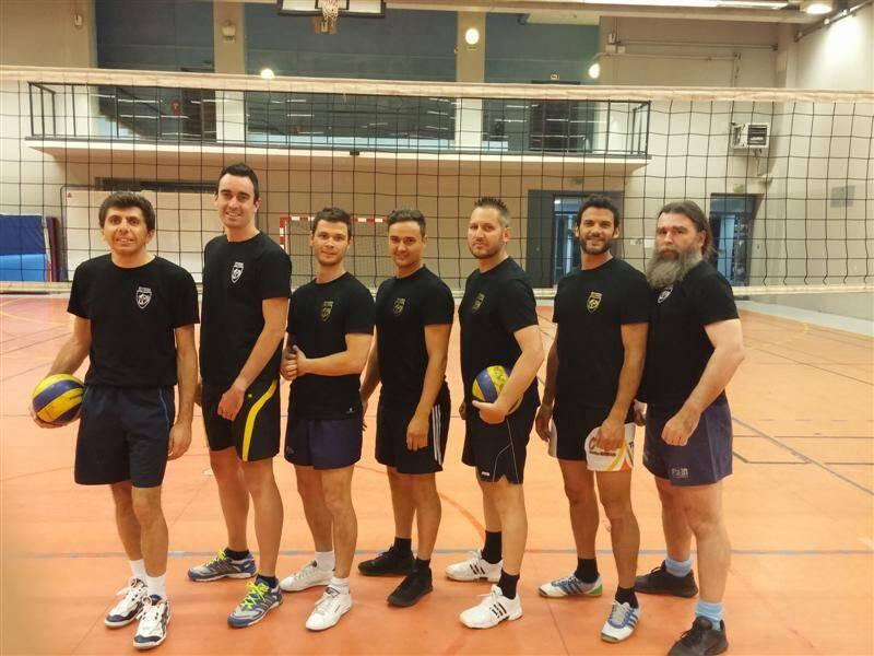 Les joueurs de tag rugby sont leaders de l'Antibes sport-co challenge.(DR)