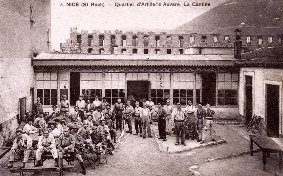 La cantine du quartier d'artillerie Auvare.
