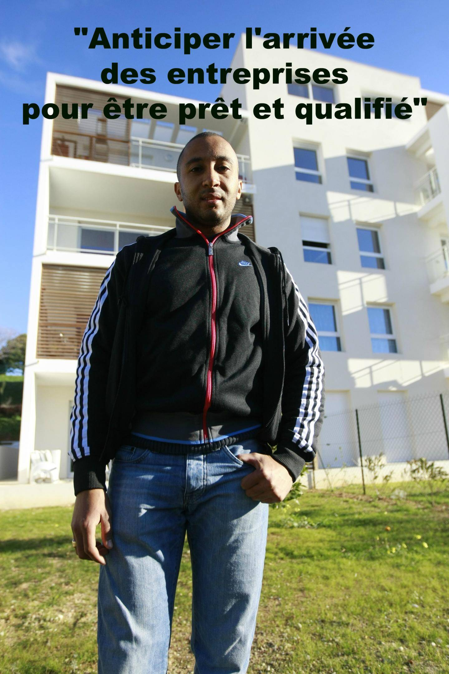 Karim Ben Ahmed, directeur de l'association Adam aux Moulins.