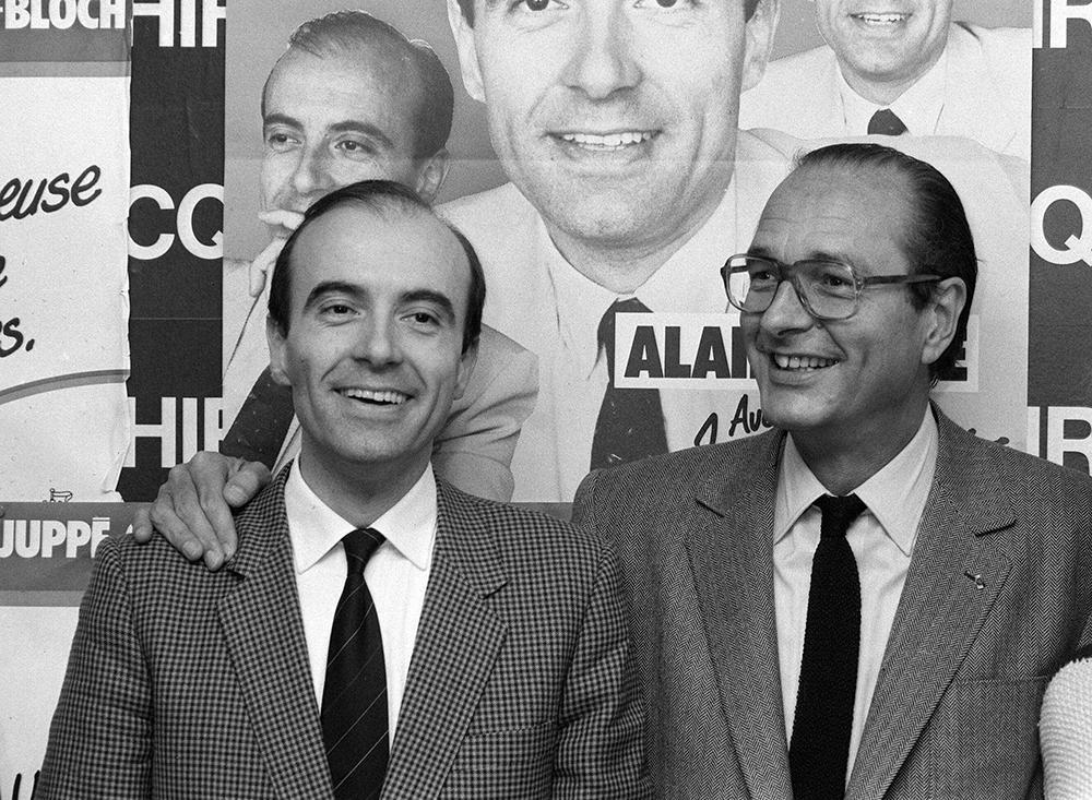 En 1983, avec Jacques Chirac. Les municipales ont été bonnes.