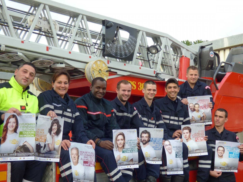 Autour du lieutenant Christine Marchi-Leccia, les sapeurs-pompiers se mobilisent cette année encore. L'objectif étant de battre le record de l'an dernier en collectant plus de 19 247 euros !