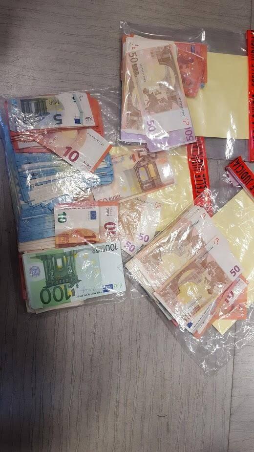16.300 euros provenant du trafic ont été saisis