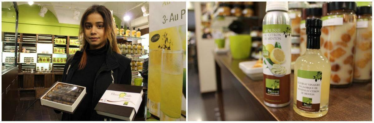 Le Pays du citron a lancé plusieurs nouveautés en cette fin d'année: le «chococello» à base de chocolat noir et de limoncello, la mousse de citron de Menton et l'élixir au vinaigre balsamique de Modène et citron de Menton.