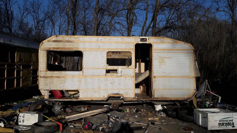 Certaines habitations ont été sérieusement touchées.
