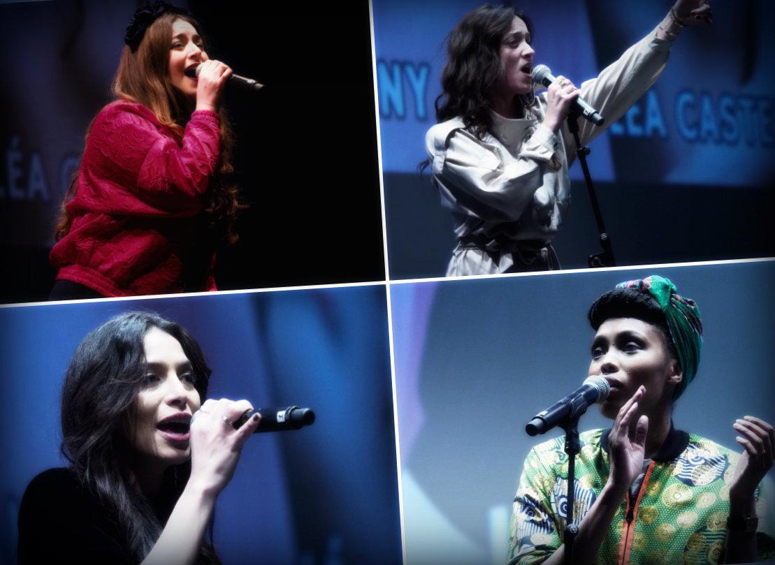 Lili Poe, Lea Castel, Zaho et Imany participent à une tournée de petits concerts privés. Un format qui leur permet d'apprécier la proximité et la réactivité du public.
