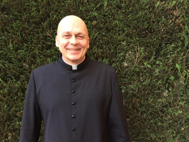 Le père Philippe Blot, prêtre missionnaire en Corée.