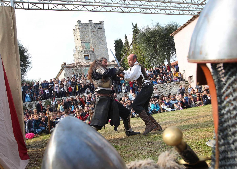 Fete Médiévale Tourrettes Levens