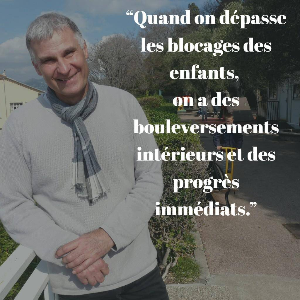 Lionel Edouard, directeur de l'école spécialisée du Château.
