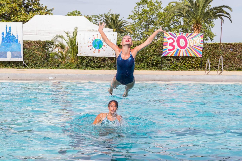 Exécuter un ballet de natation synchronisée, c'est comme courir un 400 mètres en apnée !