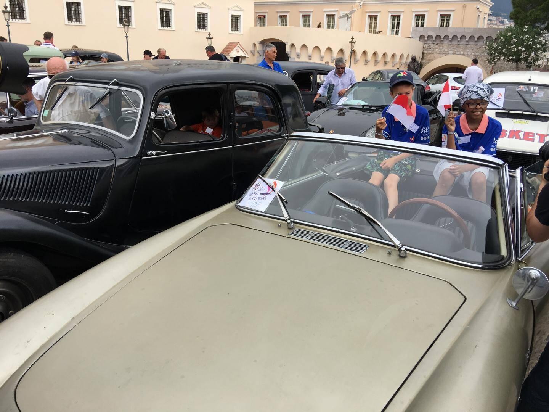 Les enfants seront conduits jusqu'à Cannes dans des voitures de collection