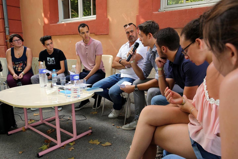 Le face à face entre Gaël Faye et les élèves du Lycée Raynouard
