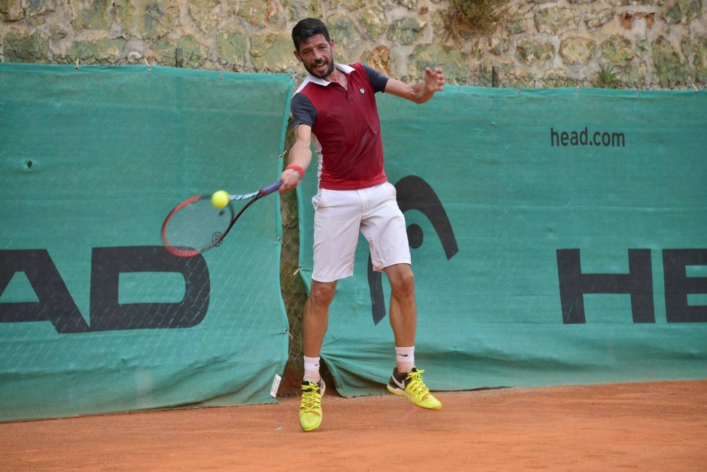 Benoit Chatel en pleine forme, remporte la catégorie des + 35 ans.