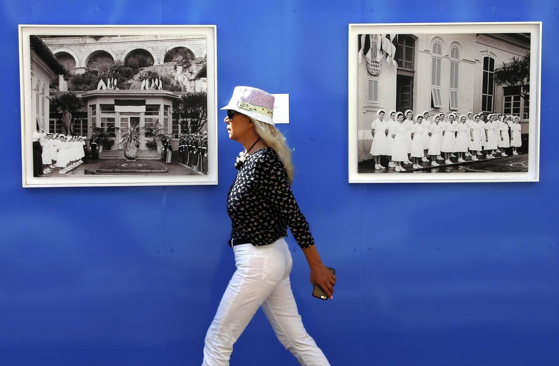 L'exposition est installée sur le lieu très justement baptisé « la Promenade ».