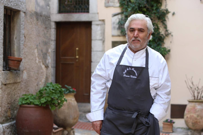 Bruno Cirino, le chef de l'hostellerie Jérôme.