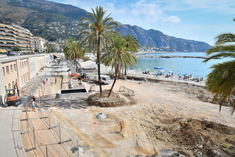 La première pierre du chantier d'aménagement de la dalle de surface a été posée en juin dernier. Objectif : livraison dans un an.