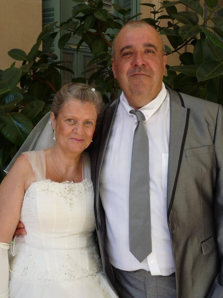 Jacqueline Chiaramonte, vendeuse, et Gilbert Lirola, gardien d'immeuble.