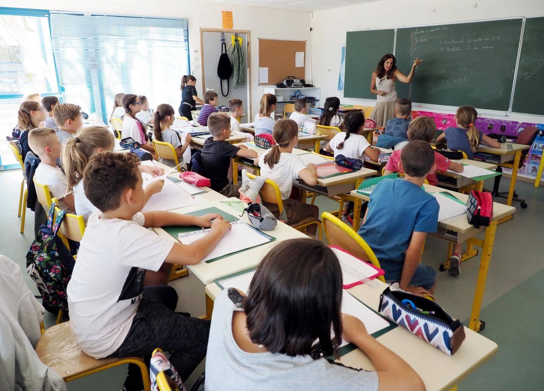 Hier à l'école Jean Monnet, au Domaine de l'Etoile.
