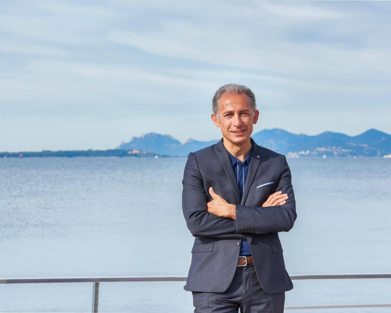 Franck Farneti dirige le Cap d'Antibes Beach Hôtel.