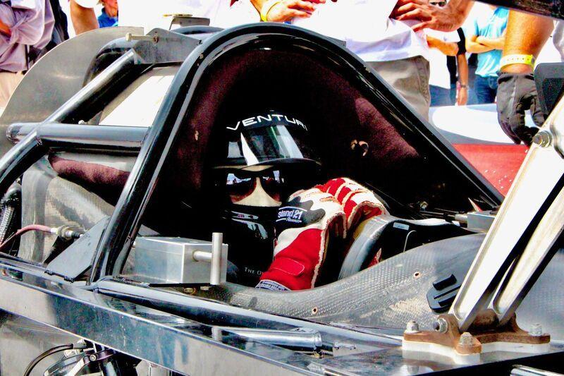 Roger Schroer, pilote officiel du Venturi Buckeye Bullet Racing.