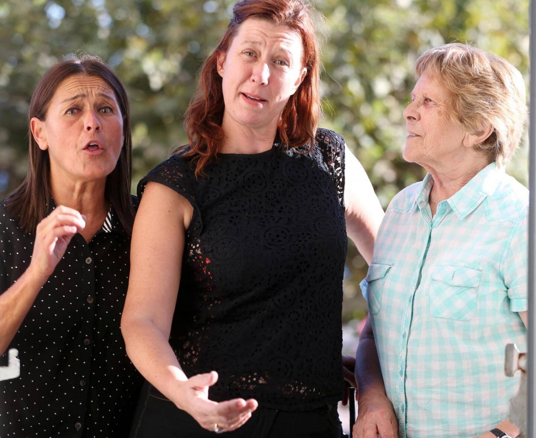 Cécile, Sophie et Christiane