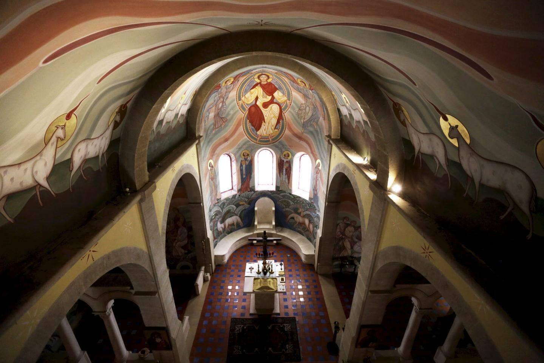 Vue de la chapelle du Monastère Saint-Michel