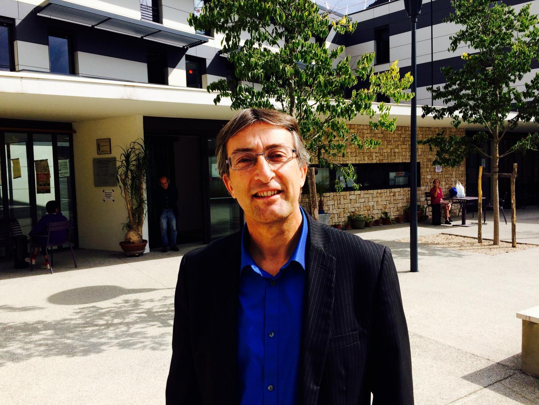 Philippe Maddalena, directeur de l'Ehpad de Lantosque qui emploie 50 personnes.