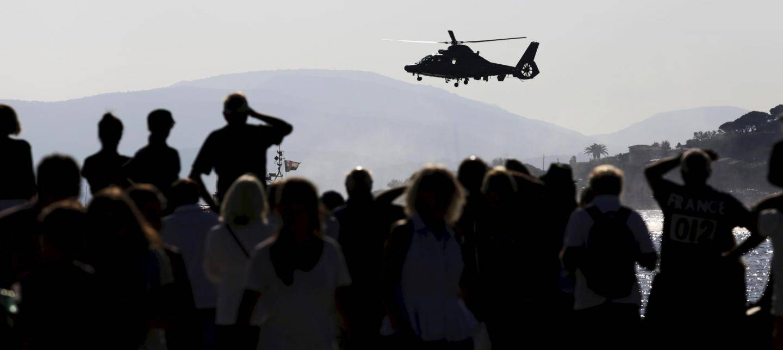 Le public a pu observer des démonstrations aériennes depuis la plage.