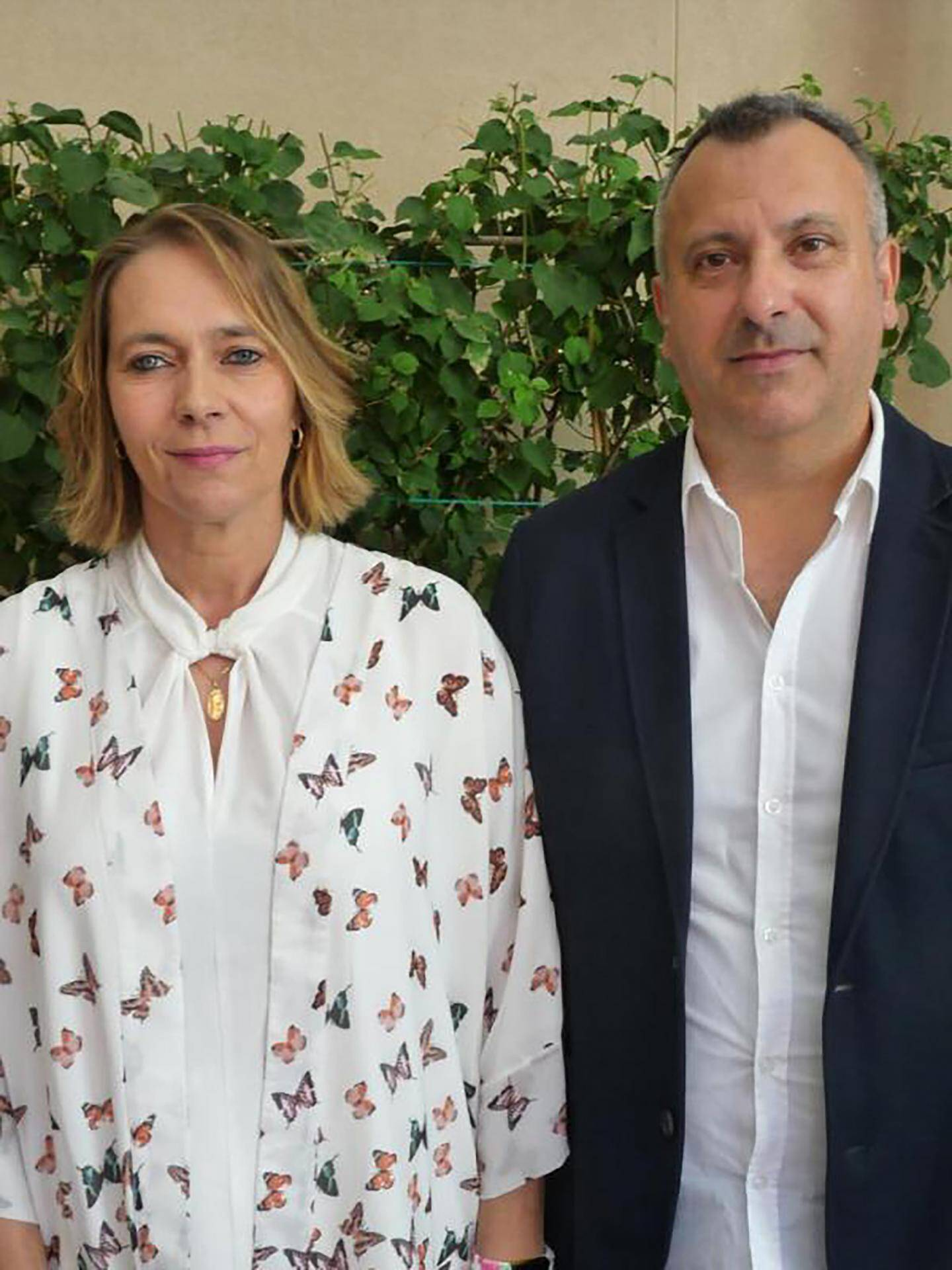 Sylvie Borckholz, aide à domicile, et Gérard Barcelo, agent de liaison.
