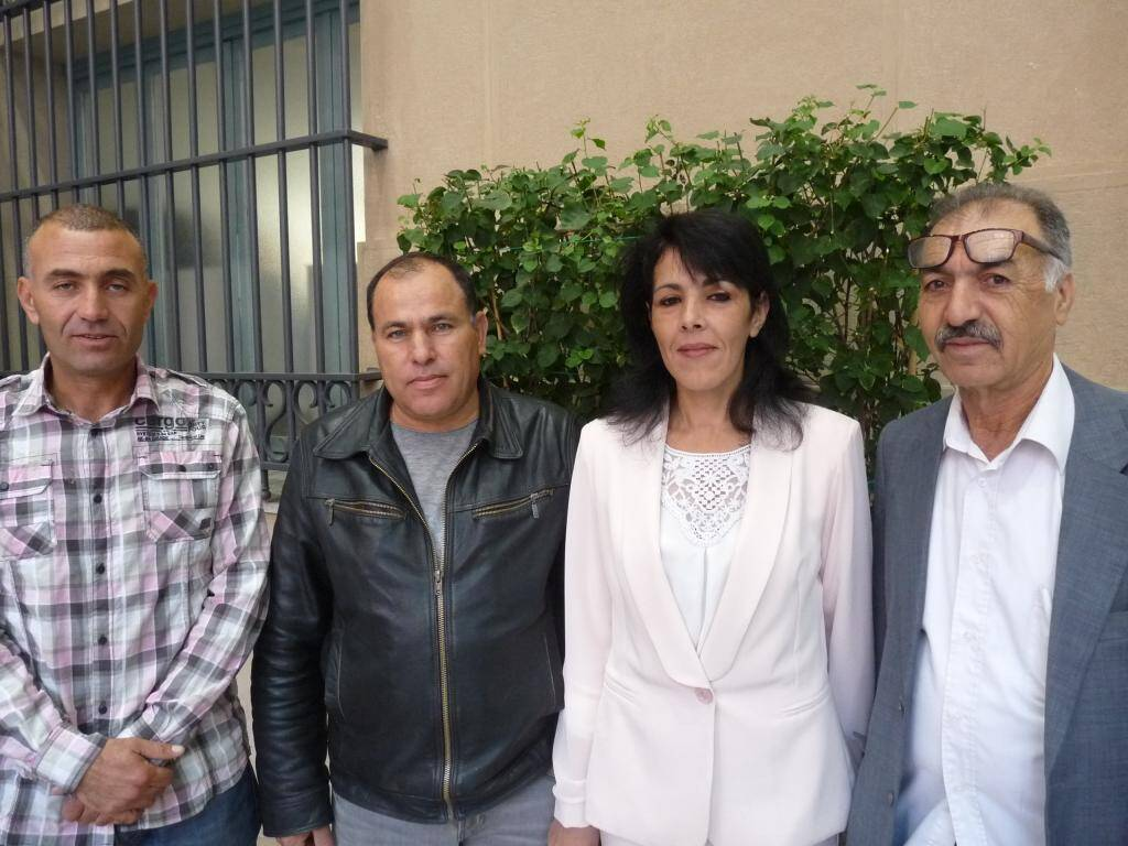 Mohamed El Ayeb, peintre, et Nadia Ali, sans emploi.